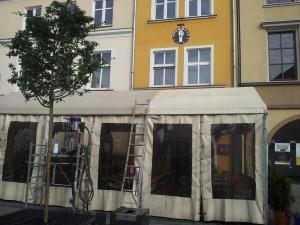 Nasze prace na rynku w Gliwicach