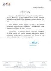 ELTEL - list referencyjny